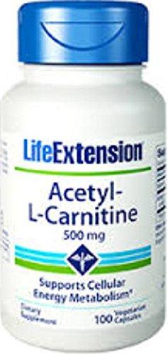 Acetyl-L-Carnitine-500mg-Life-Extension-100-VCaps-0