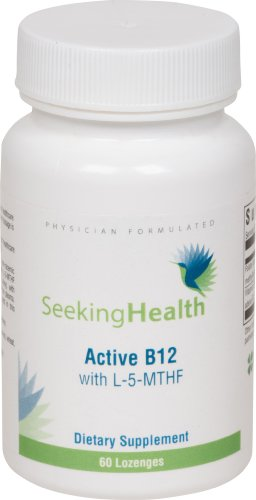Active-B12-Lozenge-With-L-5-MTHF-Sublingal-Active-B12-800-mcg-of-Pure-Non-racemc-L-methylfolate-1000-mcg-of-Methylcobalamin-and-Adenosylcobalamin-Vitamin-B12-60-Sublingual-Tablets-Physician-Formulated-0