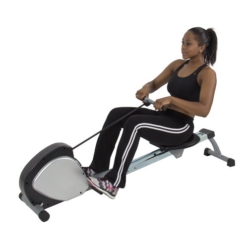 Best Choice Products Rowing Machine Fitness Space Saving ...