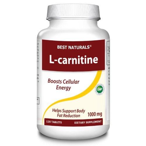 Best-Naturals-L-Carnitine-Double-Potency-Tablets-1000-mg-120-Count-0