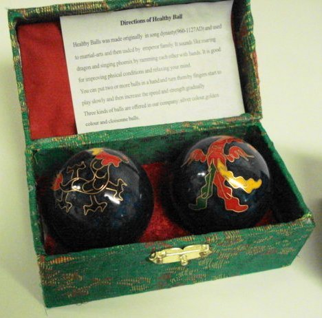 Chinese-Healthy-Balls-40555-Blue-with-Phoenix-Bird-and-Dragon-0