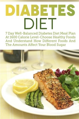 Diabetes-Diet-7-Day-Well-Balanced-Diabetes-Diet-Meal-Plan-At-1600-Calorie-Level-Choose-Healthy-Foods-And-Understand-How-Different-Foods-And-The--Type-2-Diabetes-Low-Carb-Diabetic-Recipes-0