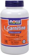 NOW-Foods-L-Carnitine-Tartrate-1000mg-100-Tablets-0