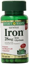 Natures-Bounty-Gentle-Iron-28mg-90-Capsules-Pack-of-3-0