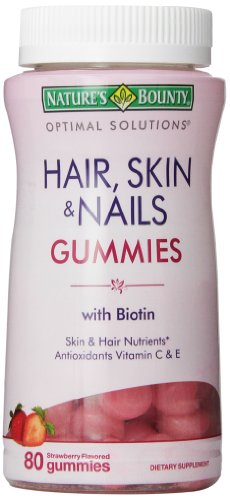 Natures-Bounty-Optimal-Solutions-Hair-Skin-and-Nails-Gummies-80-Count-Pack-of-3-0