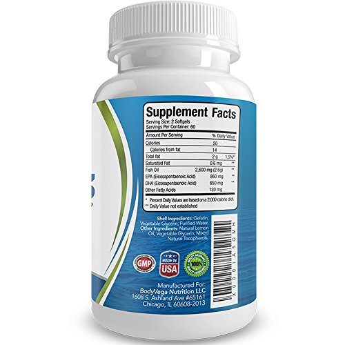 Fish oil omega 3 capsules best triple strength for Best quality fish oil