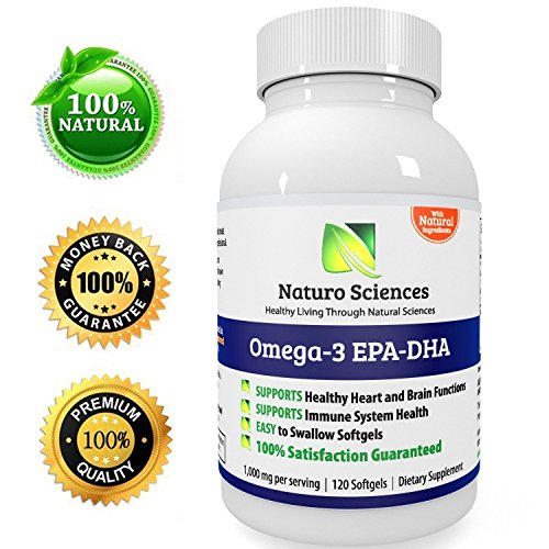 Omega 3 fish oil by naturo sciences 120 counts high for Fish oil good or bad