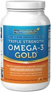 Omega-3-Fish-Oil-NutriGold-Triple-Strength-Omega-3-Gold-180-Softgels-1000-mg-EPA-DHA-with-85-Omega-3s-in-1250-mg-Liquid-Capsules-Molecularly-Distilled-Fatty-Acids-Pharmaceutical-Grade-Pills-That-Are-N-0