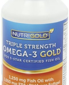 Nutrigold triple strength omega 3 fish oil supplement for Ifos fish oil