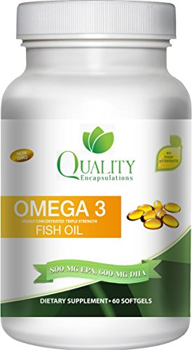 Omega 3 fish oil 0 pure burpless triple strength for Viva naturals triple strength omega 3 fish oil