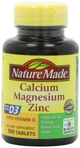 Nature-Made-Calcium-Magnesium-and-Zinc-with-Vitamin-D-With-D-3-100-Tablets-Pack-of-3-0