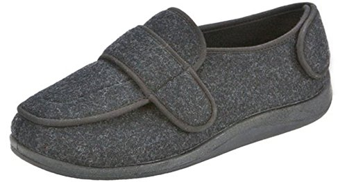 Foamtreads-Mens-Physician-SlipperCharcoal105-M-US-0