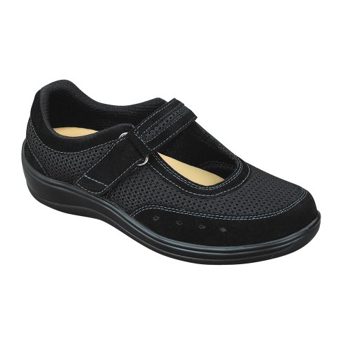 Orthofeet-851-Womens-Comfort-Diabetic-Therapeutic-Extra-Depth-Shoe-Black-65-Wide-D-Velcro-0