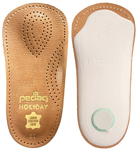 Pedag-17947-Holiday-34-Leather-Ultra-Light-Thin-Semi-Rigid-Orthotic-with-Metatarsal-Pad-and-Heel-Cushion-Tan-Arch-Support-and-Padding-at-the-Heel-Tan-Womens-8-0