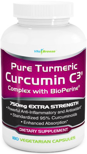 Turmeric-Curcumin-C3-Complex-with-BioPerine-750mg-per-Capsule-180-Veg-Caps-Contains-Black-Pepper-For-Superior-Absorption-and-Bio-availability-95-Standardized-Curcuminoids-For-Maximum-Potency-0
