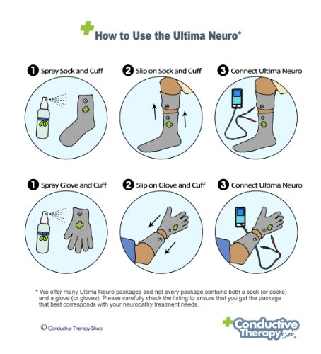 Ultima Neuro Neuropathy Feet System For Treatment amp Relief