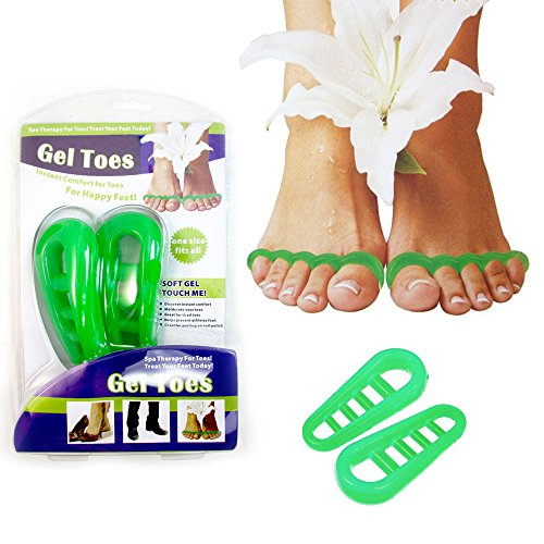 BooToolTM-Gel-Toe-Separators-Stretcher-Relaxer-Spa-Therapy-Pampered-Toe-Bunion-One-Size-0