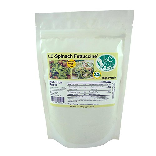 LC-Foods-Spinach-Pasta-Mix-Low-Carb-No-Sugar-All-Natural-Diabetic-Friendly-65-oz-0