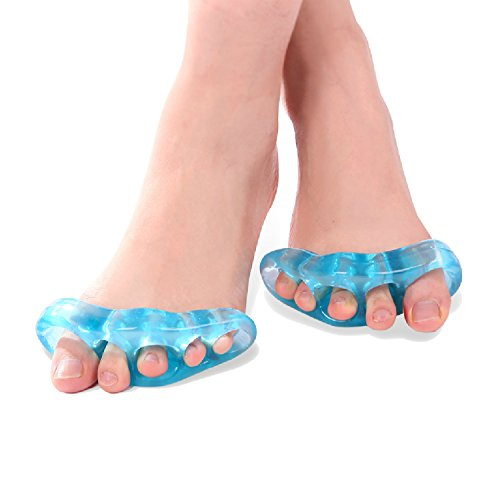 LEAGY-TM-Tailors-Bunion-Pads-Set-of-Soft-Gel-Pinky-Toe-Pad-Cover-Shield-Cushion-Protector-Guard-Bunionette-Pads-Help-Reduce-Pain-in-Your-Little-Toe-By-Protecting-Sensitive-Skin-of-the-Tailors-Bunion-P-0