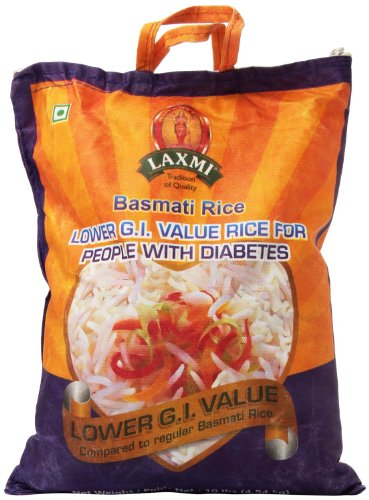 Laxmi-Basmati-Rice-Lower-Glycemic-Index-Value-Basmati-Rice-for-People-with-Diabetes-10lb-Pack-of-2-0