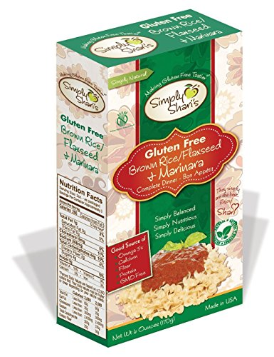 Simply-Sharis-Gluten-Free-Brown-RiceFlaxseed-Marinara-Pasta-6-ounces-4-Boxes-0